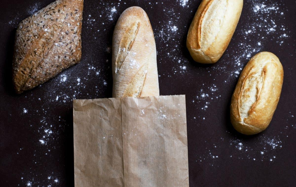chléb, potraviny, organické, dieta, cereálie