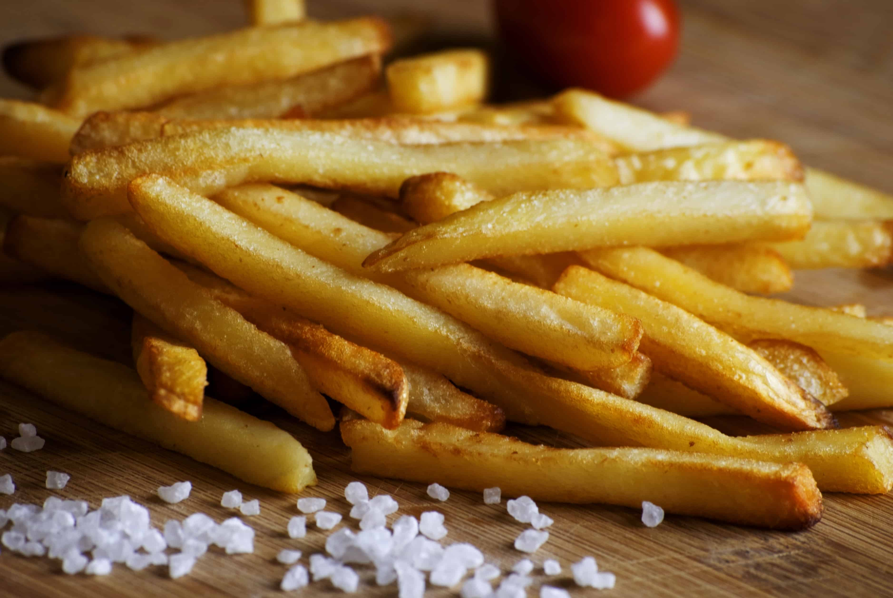 Картошка фри в картинках