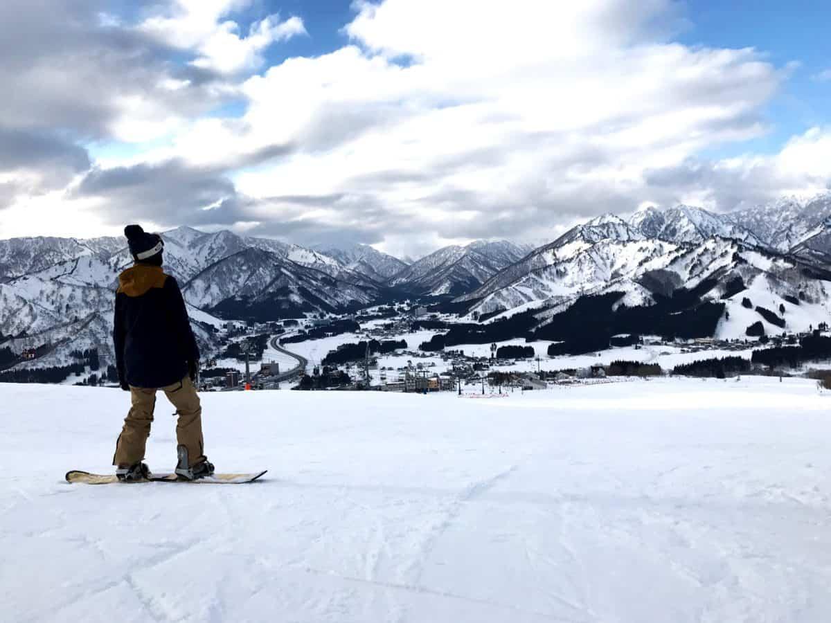 snow, winter, cold, mountain, hill, skier, landscape, sport