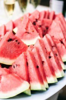 ukusna, voće, lubenica, kriška, hrana, dinja, crvena