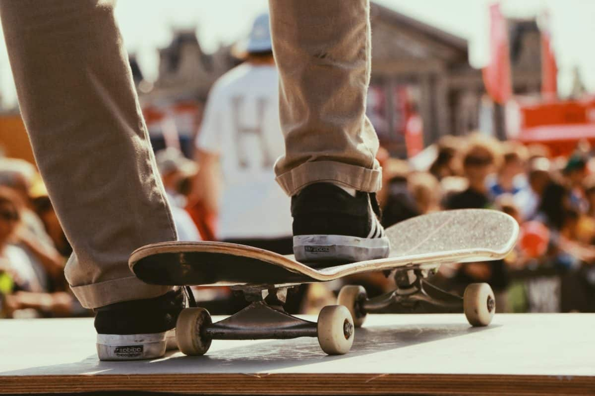 skateboard, uomo, persona, persone, concorso, sport