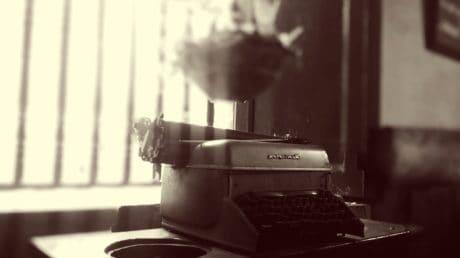 Objekt, Detail, alte, Laptop, Maschine, Antiquität, Werkzeug, Schwarzweiß, sepia