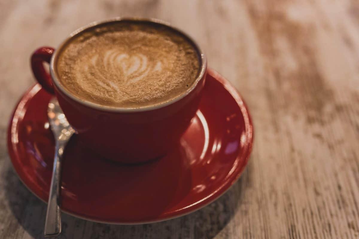κούπα καφέ, κουτάλι, ποτό, Κύπελλο, espresso, καφεΐνη, καπουτσίνο, ξύλο