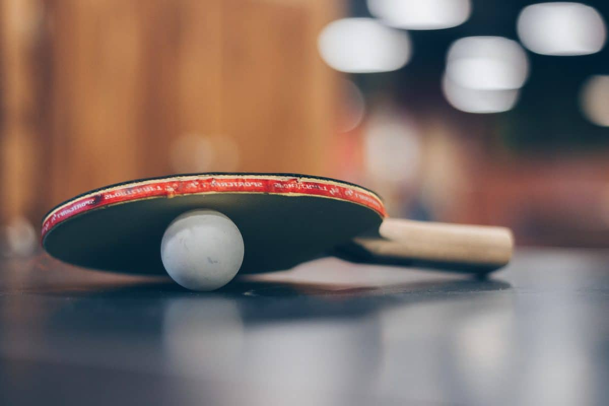 table tennis, spot, ball, equipment, competition, sport