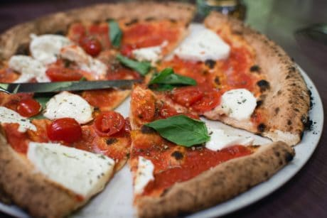 pizza, Italy, food, tomato, mozzarella, lunch, cheese, dish, dinner