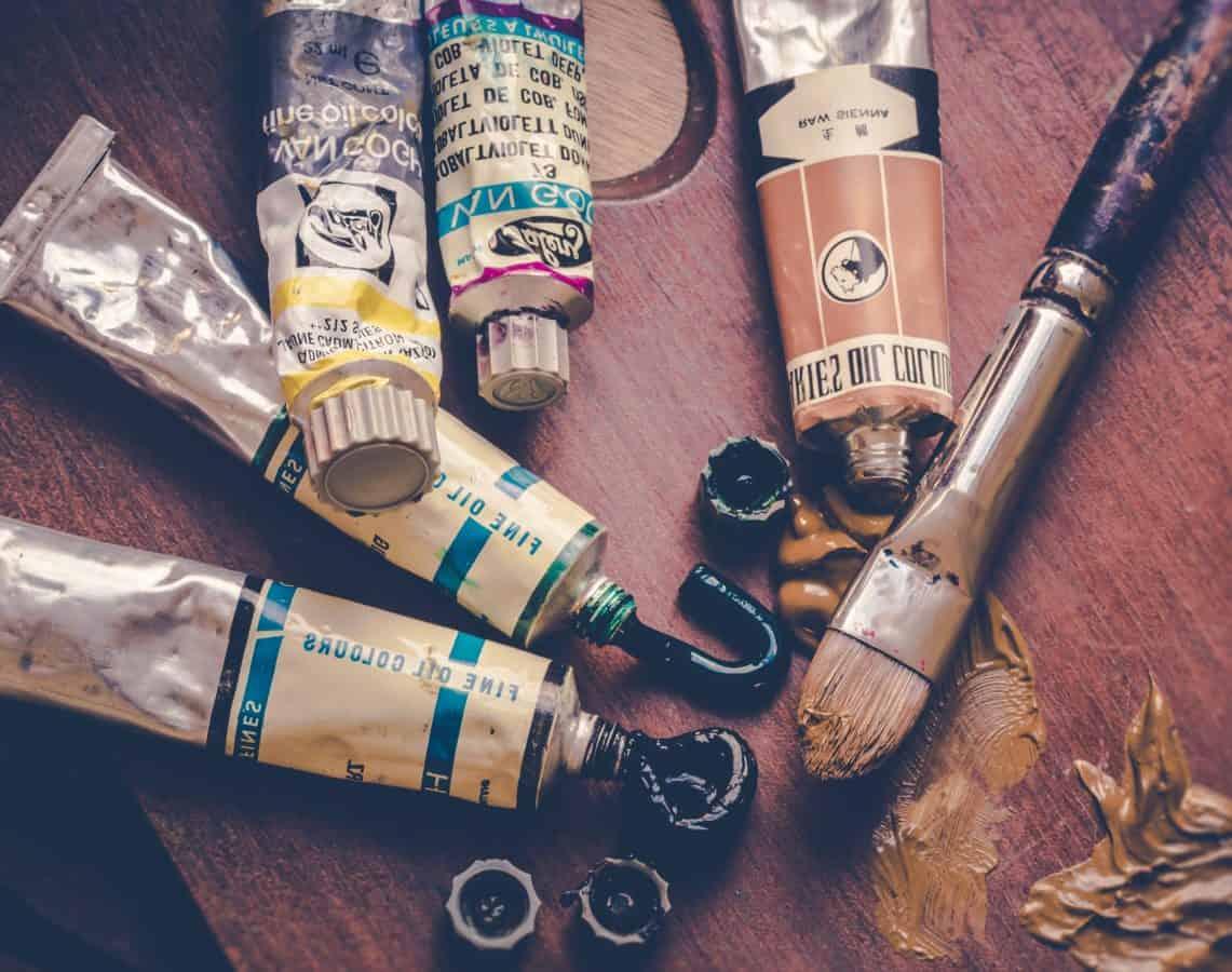 pensel, farve, farverige, kunst, kreativitet, kunst, værktøj, håndværktøj, objekt