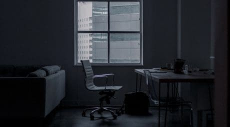 chair, window, room, monochrome, contemporary, table, furniture, desk