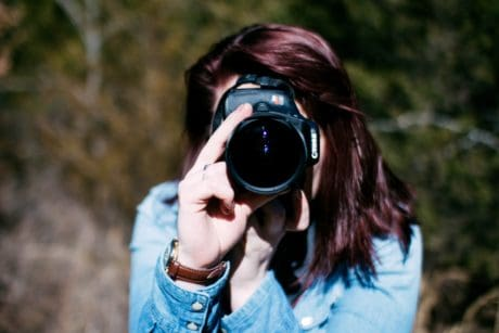 photographer, photography, pretty girl, nature, portrait, woman, lens, binoculars, camera, person