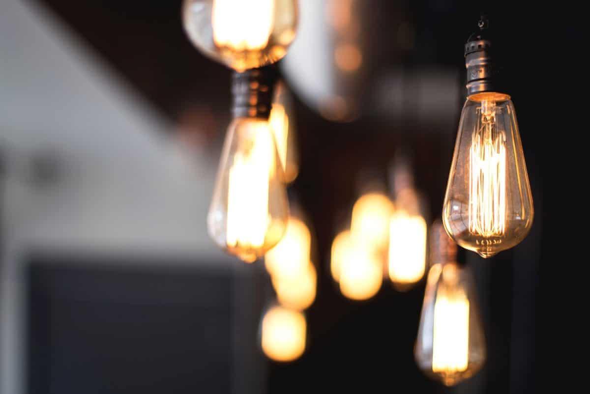 électricité, design, ancien, lampe, couverte, restaurant, verre