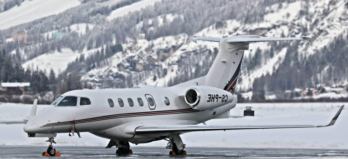 aéroport, avion, véhicule, vol, avion, neige, forêt, montagne