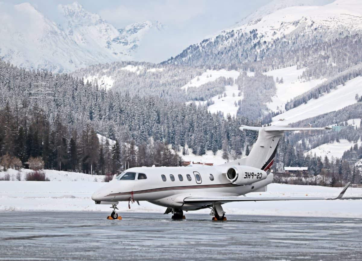 véhicule, le plein air, neige, montagne, ciel, avion, hiver, transport