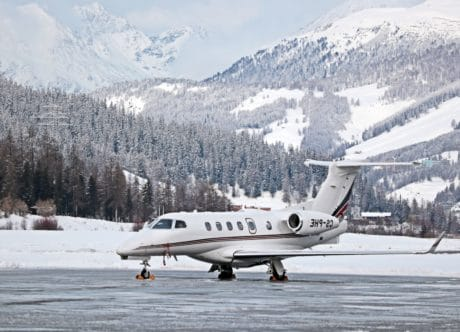 vehicle, snow, outdoor, mountain, sky, plane, winter, transport