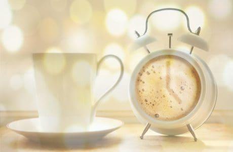porcelán, šálek kávy, nápoje, hodiny, kofein, espresso, cappuccino