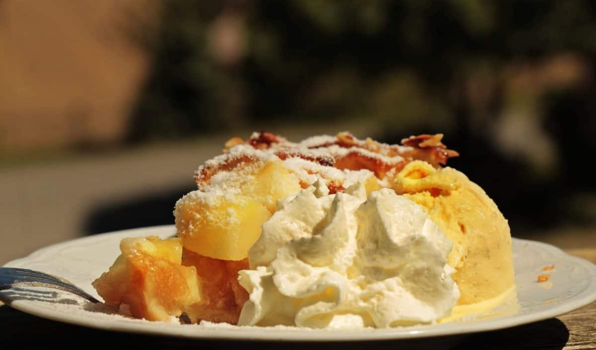 cibo delizioso, crema, piatto, dessert, cupcake