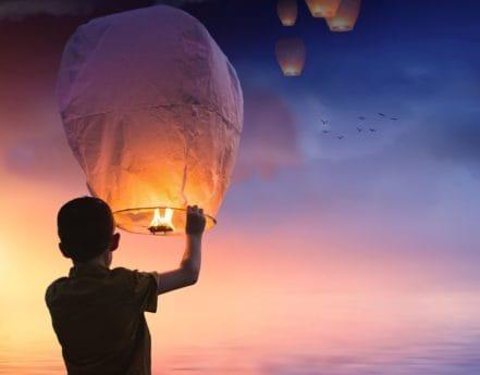 lidé, západ slunce, obloha, slunce, soumraku, balón, ohně, osoba, venkovní