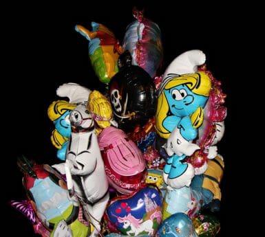 giocattolo, pallone, colorato, arte, disegno, oscurità, oggetto, materiale, plastica