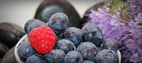 berries, raspberries, fruit, organic, flower, food, diet