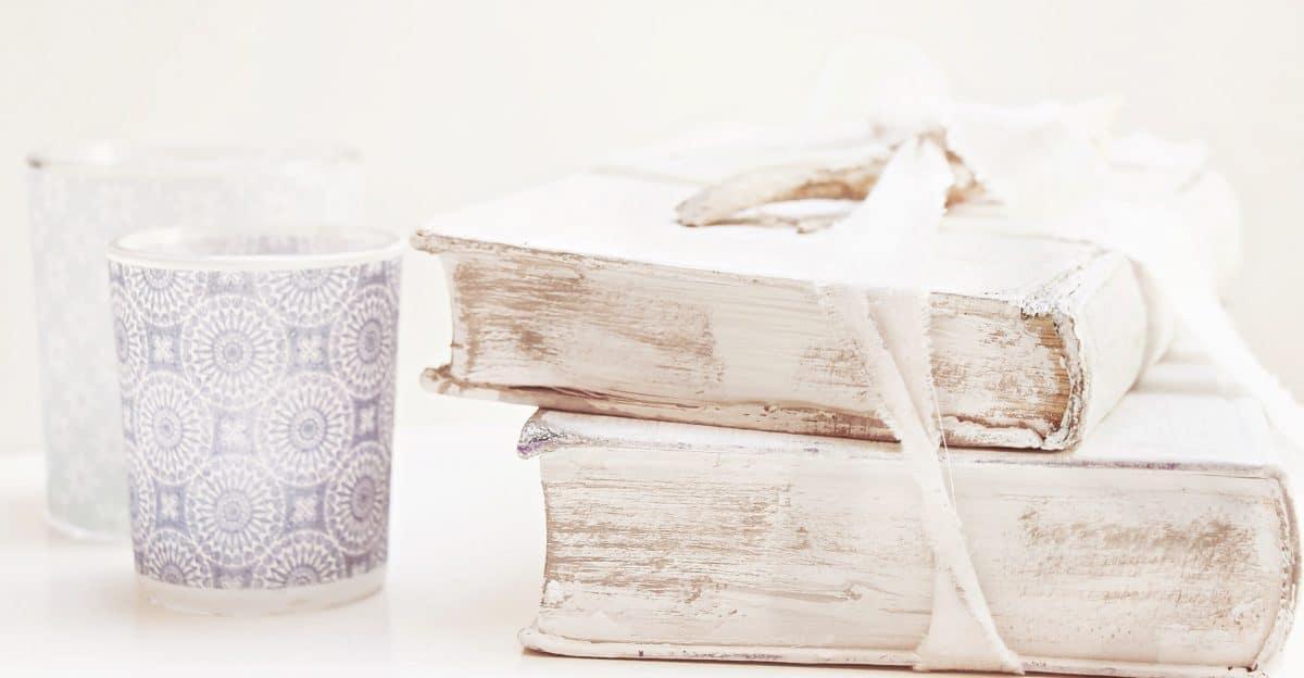 libro, nastro, tazza, decorazione, arte