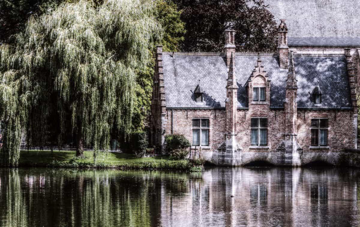arquitectura, agua, al aire libre, casa, exterior, fachada, ventanas, madera