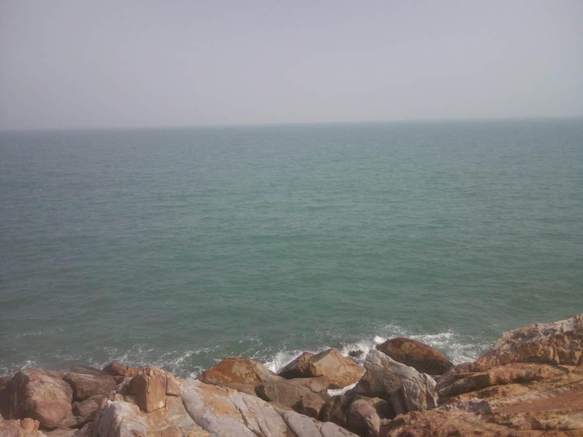 небе, вода, пейзаж, океан, бряг, природа, плаж, море