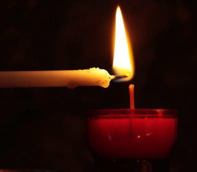 wax, heat, burn, dark, candle, fire, light