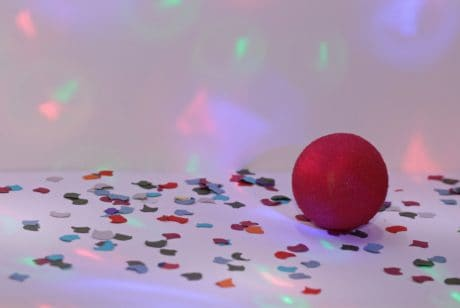 birthday, red ball, color, colorful, indoor, decoration, celebration,