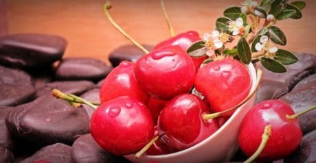 nourriture, fruits, cerise, bio, nutrition, sweet