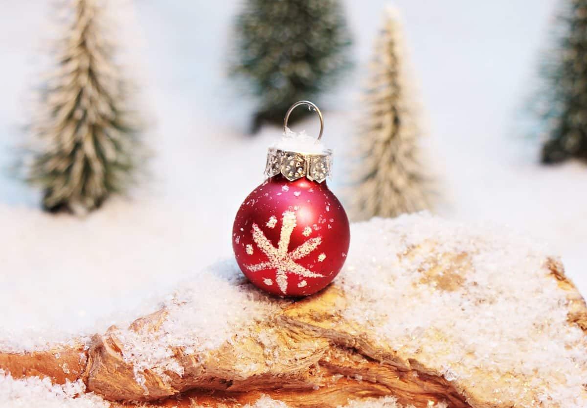 Коледа, Нова година, снежинка, украса, снежинки, сняг, зима