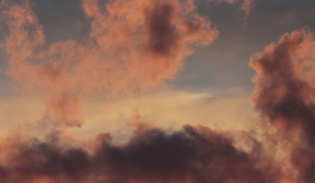 paysage, crépuscule, coucher de soleil, ciel, atmosphère, lumière