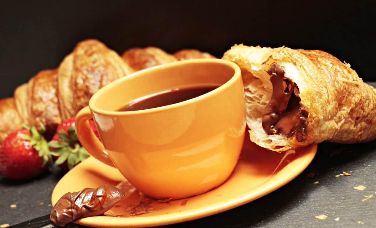 Tee, Getränk, Kaffeetasse, Frühstück, Essen