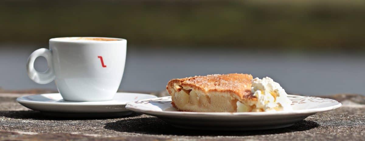 porculan, kup, doručak, kava, hrana, tablice