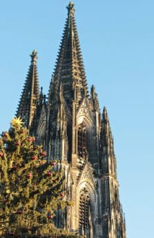 Kirchturm, blauer Himmel, Religion, Dom, Architektur, Stadt, Turm