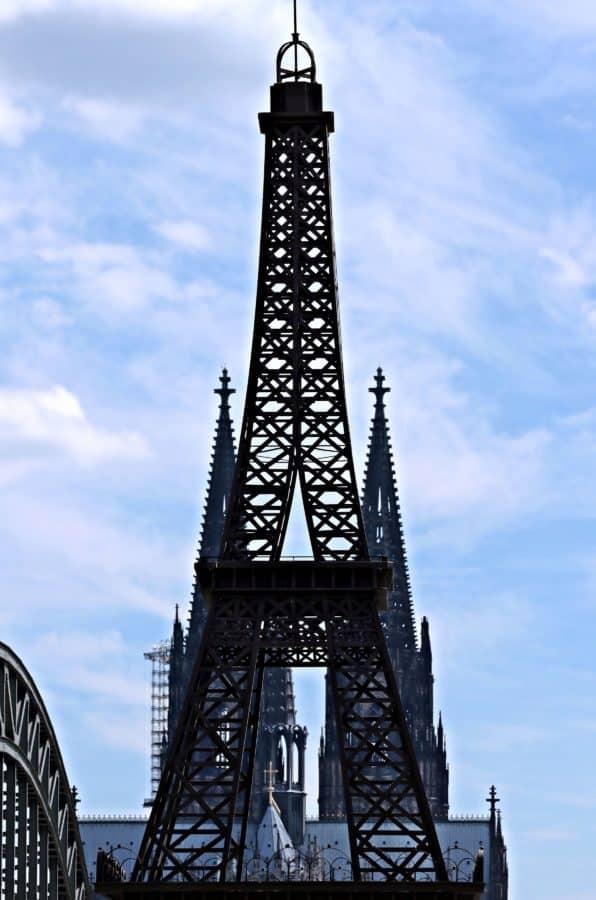 architecture, ciel, tour, acier, construction, église, ciel