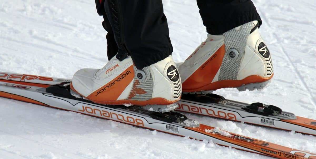 sport, race, fast, snow, skier, winter, competition, ice, footwear