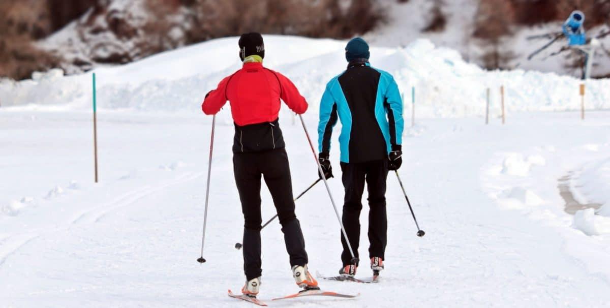 sníh, LED, studené, zimní sport, lyžař, hory, sport, outdoor
