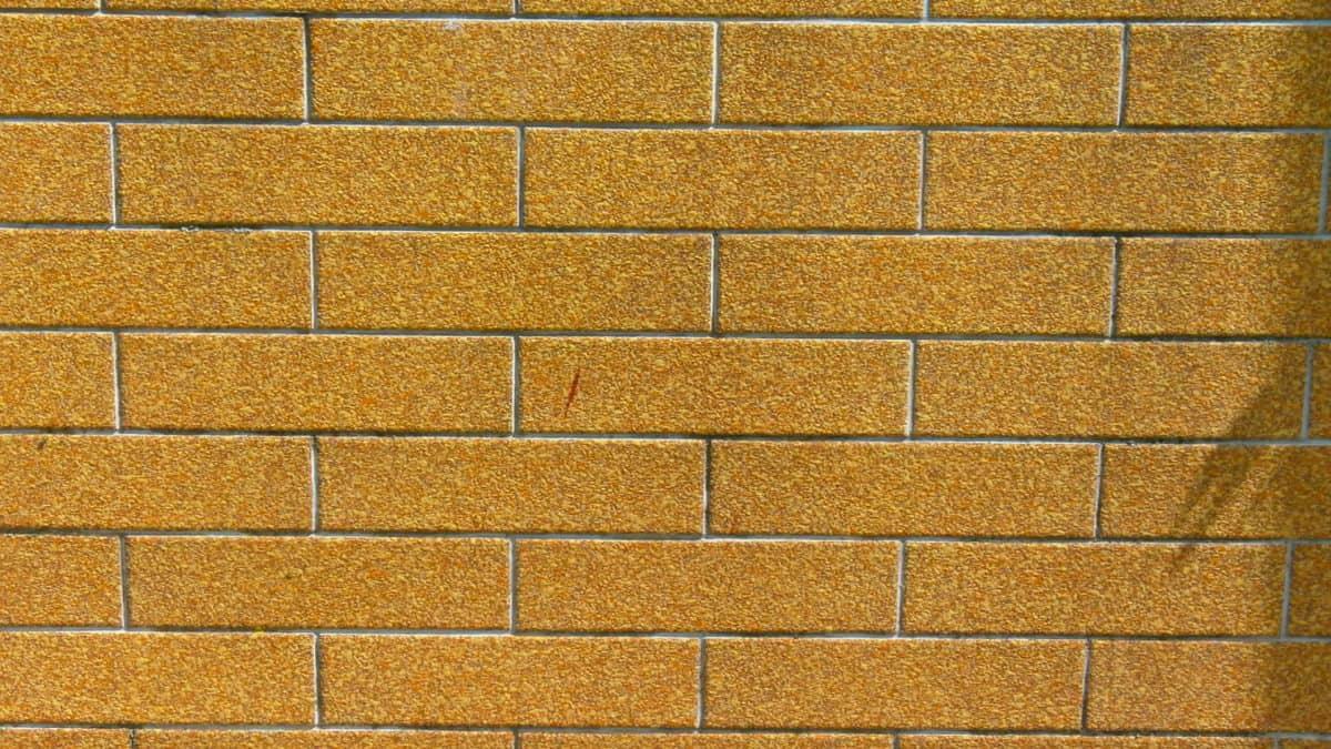 벽돌 벽, 시멘트, 큐브, 그림자, 브라운, 돌, 솔리드, 표면, 질감