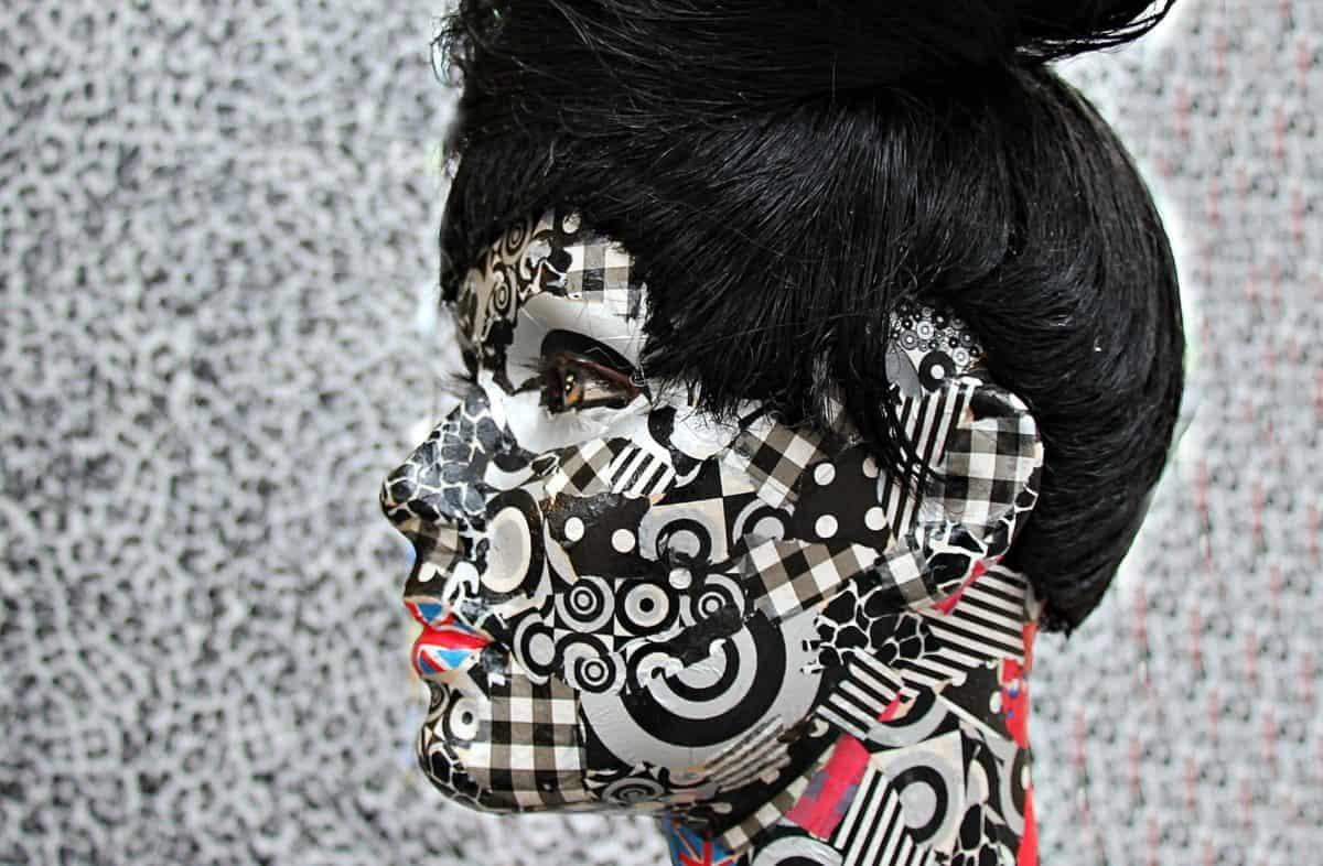 Glamour, очите, косата, портрет, грим, маска, лицето, човек