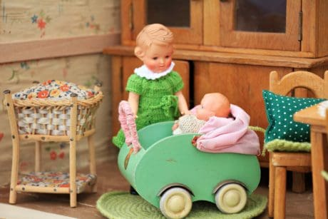 baby, child, toy, furniture, doll, childhood, object, cute