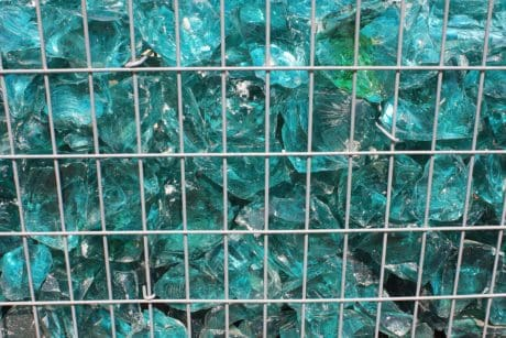 texture, abstraction, crystal, grid, blue, reflection, metal, fence