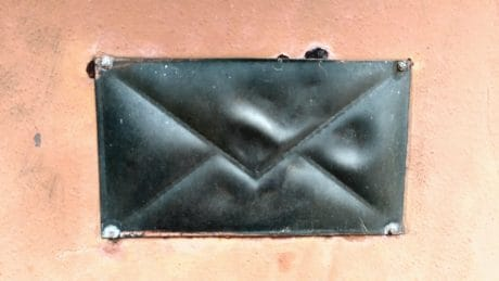 mailbox, metal, post office, telegram, telegraph, object