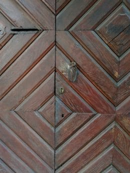 front door, texture, floor, pattern, carpentry, wood