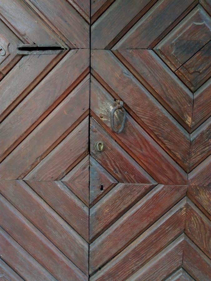 menuiserie, bois, plancher, porte d'entrée, motif, texture