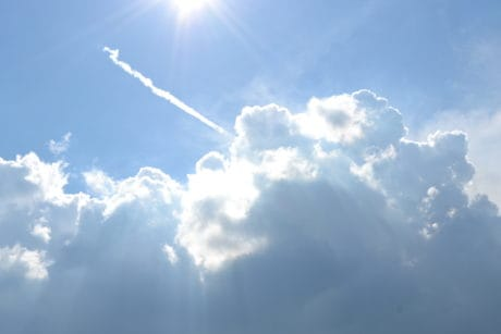 high, cloud, cloudiness, sunshine, moisture, , daylight, air, airplane, nature, sky