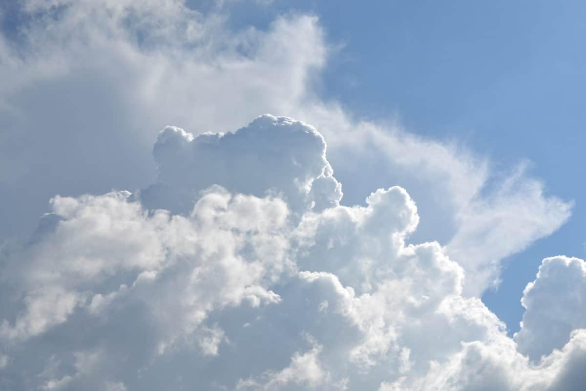 pilvi, kesä, aurinko, ilmasto, sky, tiivistyminen, korkea, pilvinen, luonnosta, maisema