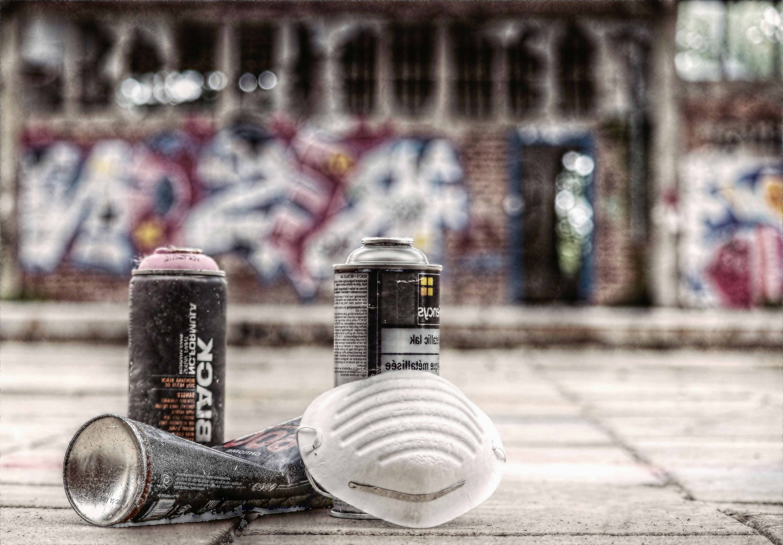 Free Picture Spray Tool Mask Paint Street Graffiti
