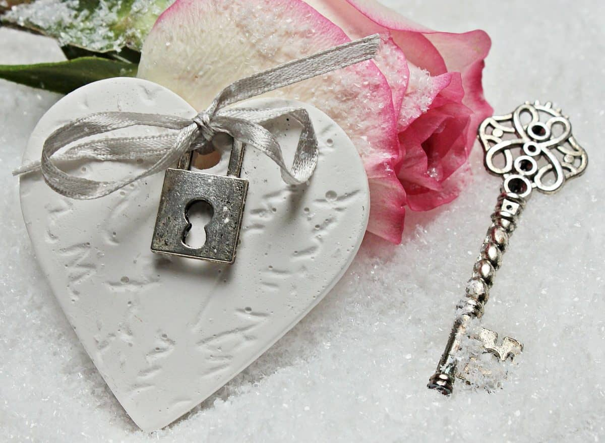 luxury, jewelry, rose, pink, key, padlock, flower, petals, love