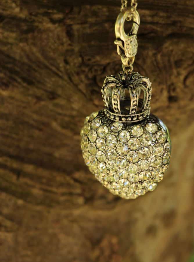 Corona, riflessione, gioielli, metalli, diamante, vetro