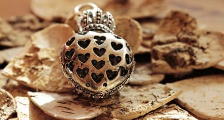 metal, crown, nature, jewelry, autumn, heart, shape