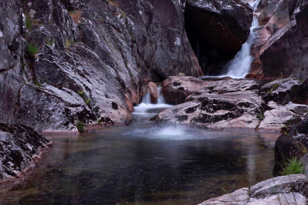 stream, waterfall, landscape, water, nature, river, national park, stone