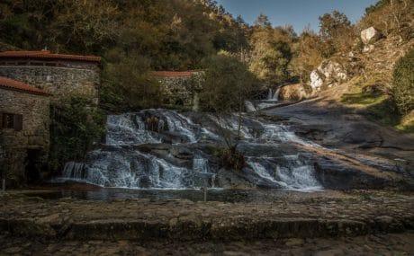 cascata, Parco nazionale, paesaggio, acqua, fiume, natura, albero, foresta, all'aperto
